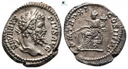 Septimius Severus AD 193-211.  Roma.  Denarius AR