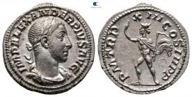 Severus Alexander AD 222-235.  Roma.  Denarius AR