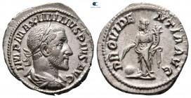 Maximinus I Thrax AD 235-238.  Roma.  Denarius AR