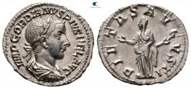 Gordian III AD 238-244.  Roma.  Denarius AR