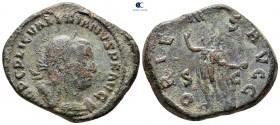 Kediotu I AD 253-260.  Roma.  Sestertius Æ