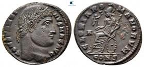 Konstantin I Büyük MS 306-337.  İstanbul.  Follis Æ