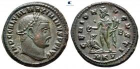 Maximinus II Daia AD 310-313.  Cyzicus.  Follis Æ