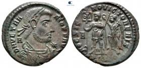 Vetranio AD 350. Siscia.  Follis Æ