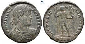 Jovian AD 363-364.  Selanik.  Çift Maiorina Æ