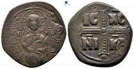 Michael IV Paphlagonian AD 1034-1041.  İstanbul.  Anonim Follis Æ