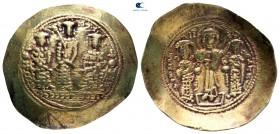 Romanus IV Diogenes, Eudocia, Michael VII, Constantius ve Andronicus AD 1068-1071 ile birlikte.  İstanbul.  Histamenon Nomisma AV