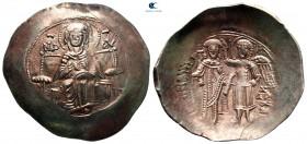 Isaac II Angelos AD 1185-1195.  İstanbul.  Aspron Trachy EL