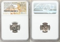 MACEDONIAN KINGDOM. Alexander III the Great (336-323 BC). AR drachm (17mm, 4.28 gm, 10h). NGC Choice VF 4/5 - 4/5. Posthumous issue of Susa, ca. 316-3...