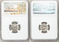 MACEDONIAN KINGDOM. Alexander III the Great (336-323 BC). AR drachm (17mm, 4.28 gm, 11h). NGC VF 5/5 - 4/5. Lifetime issue of Miletus, ca. 325-323 BC....