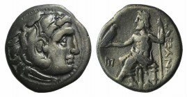 Kings of Macedon, Antigonos I Monophthalmos (Strategos of Asia, 320-306/5 BC, or king, 306/5-301 BC). AR Drachm (17mm, 3.99h, 12h). In the name and ty...