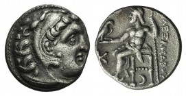 Kings of Macedon, Antigonos I Monophthalmos (Strategos of Asia, 320-306/5 BC, or king, 306/5-301 BC). AR Drachm (17mm, 4.51g, 2h). In the name and typ...