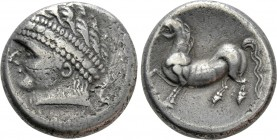 "CENTRAL EUROPE. East Noricum. Tetradrachm (2nd-1st century BC). ""Freie Samobor Type"""