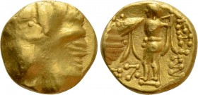 "CENTRAL EUROPE. Boii. GOLD 1/3 Stater (2nd-1st centuries BC). ""Athena Alkis"" type"