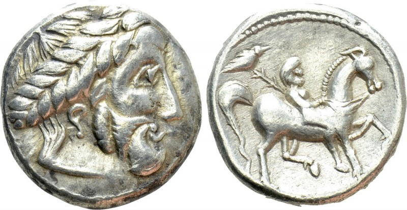 EASTERN EUROPE. Imitations of Philip II of Macedon (3rd century BC). Tetradrachm...