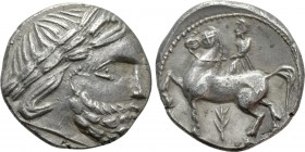 "EASTERN EUROPE. Imitations of Philip II of Macedon. Tetradrachm (2nd-1st centuries BC). ""Zweigreiter"" type"