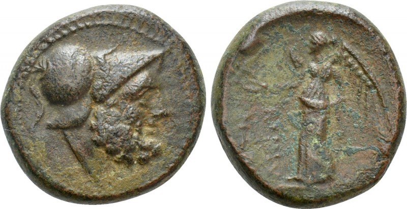 BRUTTIUM. Petelia. Ae (216-204 BC). 