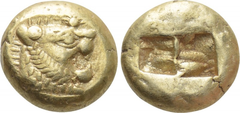 KINGS OF LYDIA. Time of Alyattes to Kroisos (Circa 620/10-550/39 BC). EL Trite o...