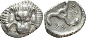 DYNASTS OF LYCIA. Perikles (Circa 380-360 BC). Tetrobol. Uncertain mint, possibly Limyra