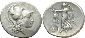 PAMPHYLIA. Side. Tetradrachm (Circa 205-190 BC). Dein-, magistrate