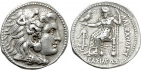 SELEUKID KINGDOM. Seleukos I Nikator (312-281 BC). Tetradrachm. Uncertain mint 6A in Babylonia. In the name and types Alexander III 'the Great' of Mac...