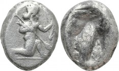 ACHAEMENID EMPIRE. Time of Darios I to Xerxes II (485-420 BC). Siglos. Sardes