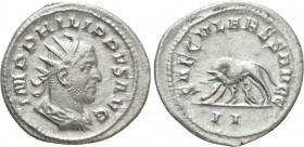 PHILIP I THE ARAB (244-249). Antoninianus. Rome