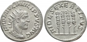 PHILIP I THE ARAB (244-249). Antoninianus. Antioch