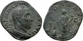 PHILIP I THE ARAB (244-249). Sestertius. Rome