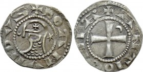 CRUSADERS. Antioch. Bohemund IV or V (1201-1251). Denier