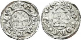 FRANCE. Normandie. Richard I (943-996). Denier. Rotomagus (Rouen)