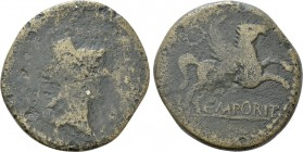 HISPANIA. Tarraconensis. Emporiae. As (late 1st century BC)