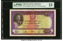 Afghanistan Bank of Afghanistan 500 Afghanis ND (1939) / SH1318 Pick 27 PMG Choice Fine 15. Foreign substance.   HID09801242017  © 2020 Heritage Aucti...