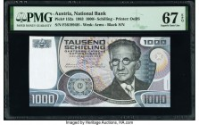 Austria Austrian National Bank 1000 Schilling 3.1.1983 Pick 152a PMG Superb Gem Unc 67 EPQ.   HID09801242017  © 2020 Heritage Auctions | All Rights Re...