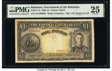 Bahamas Bahamas Government 1 Pound 1936 Pick 11a PMG Very Fine 25.   HID09801242017  © 2020 Heritage Auctions | All Rights Reserved