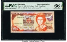 Bermuda Monetary Authority 100 Dollars 1994 Pick 46 Commemorative PMG Gem Uncirculated 66 EPQ.   HID09801242017  © 2020 Heritage Auctions | All Rights...