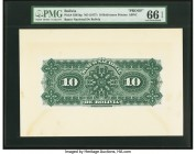 Bolivia Banco Nacional de Bolivia 10 Bolivianos ND (1877) Pick S201bp Proof PMG Gem Uncirculated 66 EPQ.   HID09801242017  © 2020 Heritage Auctions | ...