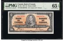Canada Bank of Canada $2 2.1.1937 Pick 59c BC-22c PMG Gem Uncirculated 65 EPQ.   HID09801242017  © 2020 Heritage Auctions | All Rights Reserved