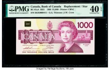 Canada Bank of Canada $1000 1988 Pick 100a BC-61aA Replacement PMG Extremely Fine 40 EPQ.   HID09801242017  © 2020 Heritage Auctions | All Rights Rese...