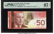 Canada Bank of Canada $50 2004-06 Pick 104b BC-65a PMG Superb Gem Unc 67 EPQ.   HID09801242017  © 2020 Heritage Auctions | All Rights Reserved