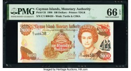 Cayman Islands Monetary Authority 100 Dollars 1998 Pick 25 PMG Gem Uncirculated 66 EPQ.   HID09801242017  © 2020 Heritage Auctions | All Rights Reserv...