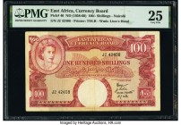 East Africa East African Currency Board 100 Shillings ND (1958-60) Pick 40 PMG Very Fine 25.   HID09801242017  © 2020 Heritage Auctions | All Rights R...