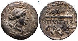 Macedon. Amphipolis. Under Roman Protectorate circa 167-149 BC. First Meris. Tetradrachm AR