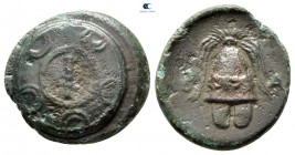 "Kings of Macedon. Amphipolis. Alexander III ""the Great"" 336-323 BC. Half Unit Æ"