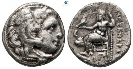 Kings of Thrace. Kolophon. Macedonian. Lysimachos 305-281 BC. Drachm AR