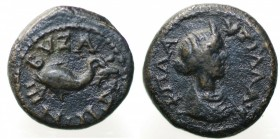 Plautilla (198-217). Tracia, Byzantion. Bronzo AE gr. 3,03 mm 15,02. BB