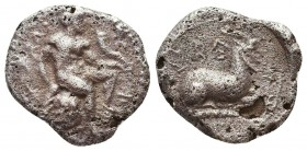 CILICIA. Kelenderis. Circa 430-420 BC. Ar Silver Coin, RARE Type! Condition: Very Fine    Weight: 3,2 gr Diameter: 16 mm