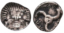 Dynasts of Lykia, Perikles AR . Circa 380-360 BC. Condition: Very Fine    Weight: 2,4 gr Diameter: 15 mm