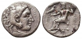 Kings of Macedon. Alexander III 'the Great' (336-323 BC). AR Drachm Condition: Very Fine    Weight: 3,1 gr Diameter: 16 mm