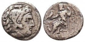Kings of Macedon. Alexander III 'the Great' (336-323 BC). AR Drachm Condition: Very Fine    Weight: 3,4 gr Diameter: 16 mm